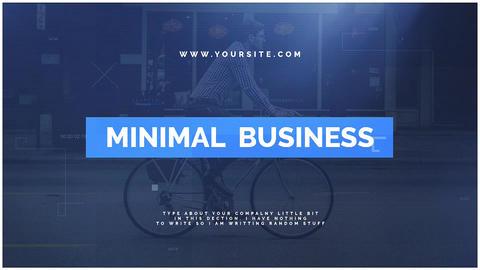 Minimal Business Premiere Pro Template