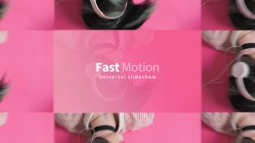 Fast Frames Plantilla de Apple Motion