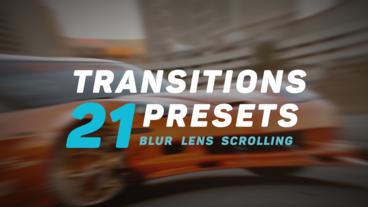 Transitions Presets v.2 Premiere Pro Template