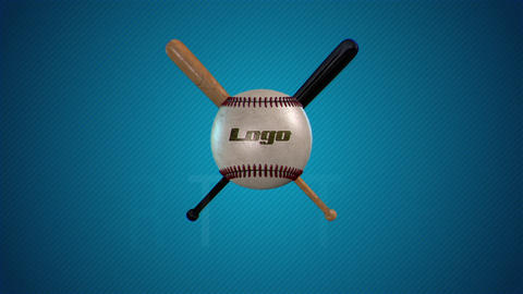Sport Logo Baseball After Effects Template