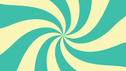 Set of hypnotic rays rotations, looped HD backgrounds animation Animation