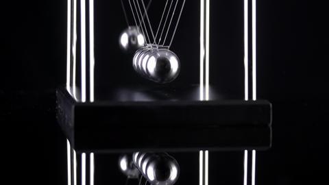 Newton's Cradle Slow Motion GIF