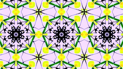 Kaleidoscope Background 4K Loop CG動画素材