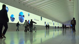 New York City Oculus World Trade Center NYC, Spectacles ad Footage