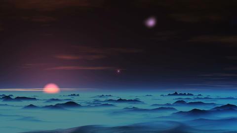Falling UFO Animation