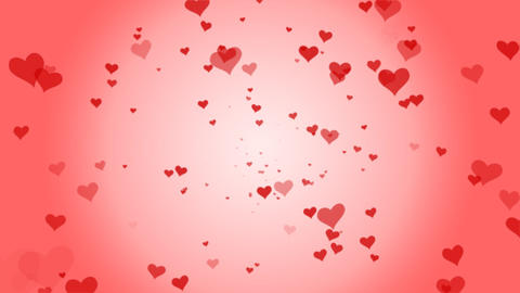 Loopable Shooting Heart pink Animation