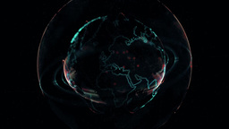 World Network - Connections Over The Earth stock footage