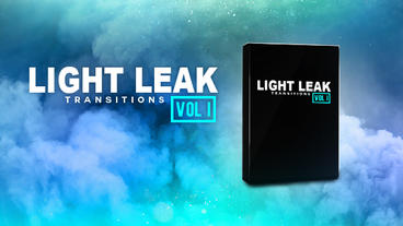 Light Leak Transitions Vol. I After Effects Template