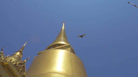 Temples in Grand Palace of Bangkok Footage