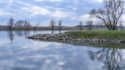 The river Danube Footage