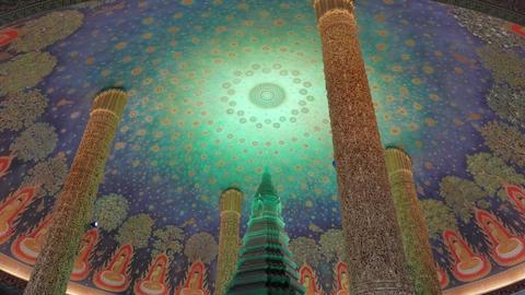 Wat Paknam Green Crystal Pagoda 2 ビデオ