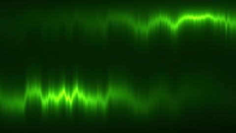 Green Vertical Distortion of Light VJ Loop Motion Background Animation