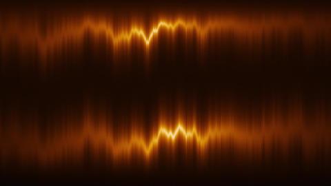 Orange Vertical Distortion of Light VJ Loop Motion Background Animation