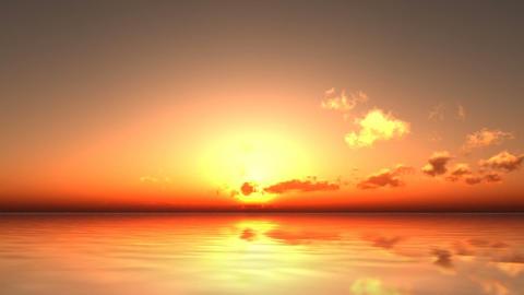 The morning sun Animation