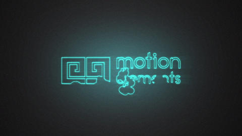 Liquid Neon Logo After Effects Template