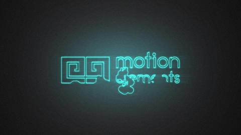 Liquid Neon Logo After Effects Template