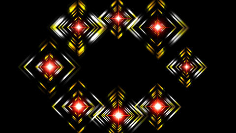SQUARE LIGHTS SHOW Animation