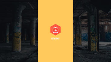 IGTV Logo Reveal After Effects Template