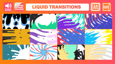 Liquid Transitions Pack After Effectsテンプレート
