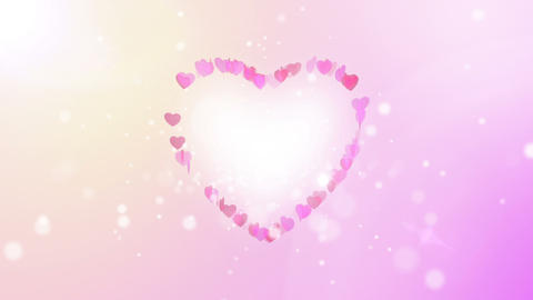 heart back ground light GIF