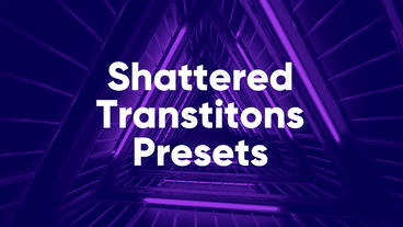 Shattered Presets Premiere Pro Template