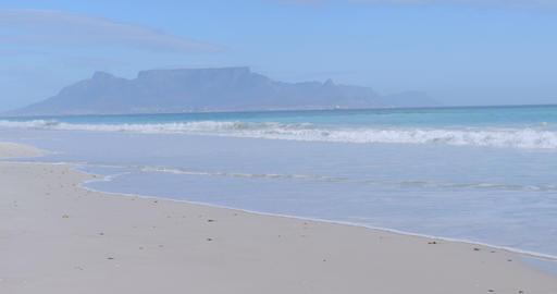 Scene of a calm beach 4K 4k Live Action