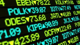 Stock Market Ticker Ultra-HD 4K stock footage