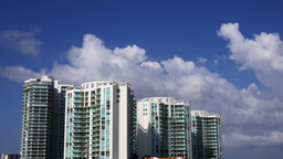 Miami Time Lapse Clouds Ultra-HD 4K Footage