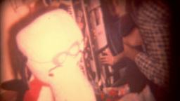Vintage Film Christmas Morning Kids Footage