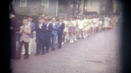 Vintage Film Church Service Event Footage