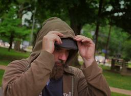 Homeless Sad Man Footage