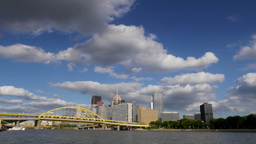 Pittsburgh Skyline Time Lapse in 4K Ultra-HD Footage