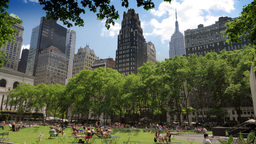 Bryant Park in New York City Time Lapse in Ultra-HD 4K Footage