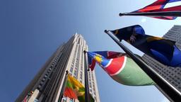 Rockefeller Center in New York City Footage