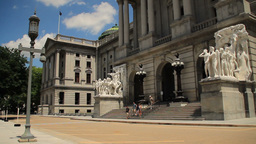 Pennsylvania State Capitol Building Footage