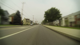 Pennsylvania Town Driving Timelapse 2K Footage