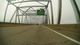 Bridge Driving 2K Footage