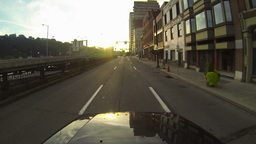 Pittsburgh City Driving 2K Footage