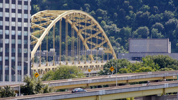 Fort Pitt Bridge and Tunnel Footage