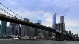 Ultra HD 4K Brooklyn Bridge Time Lapse Footage
