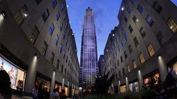 Rockefeller Center Establishing Shot Footage