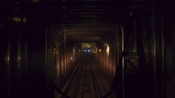 New York Subway Train POV 3461 Footage