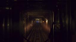 New York Subway Train POV 3461 Footage