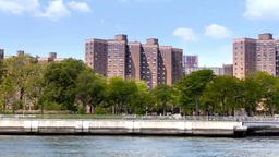 Stuyvesant Town Manhattan Housing Projects Footage