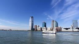 Jersey City Skyline Footage