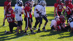 Middle School Football Game Footage