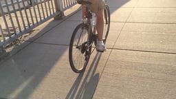Extreme Slow Motion Bike Rider 3624 Footage