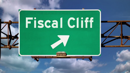 Fiscal Cliff Warning Sign 3636 Footage