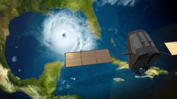 4K UltraHD Weather Satellite 3659 Footage