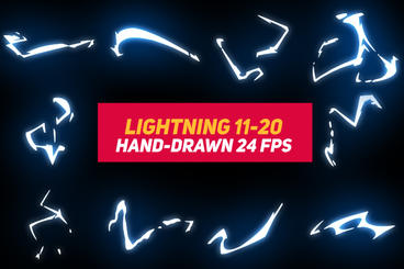 Liquid Elements 3 Lightning 11-20 After Effects Template